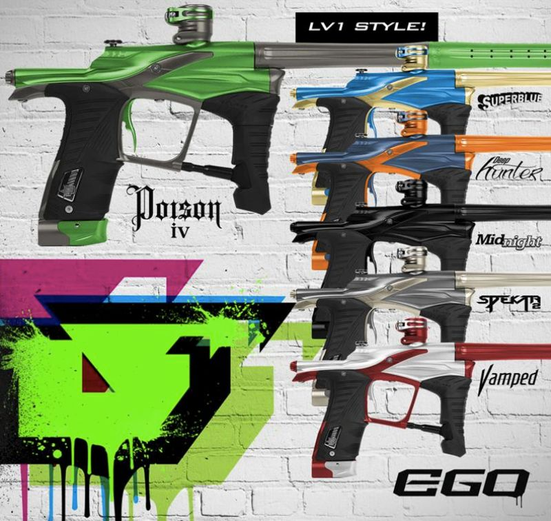Planet Eclipse Ego LV1 Paintball marker
