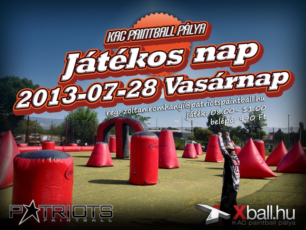 KAC paintball pálya